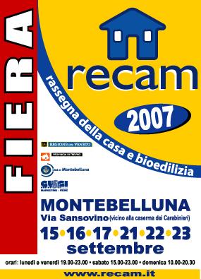 Manifesto Fiera RECAM 2007