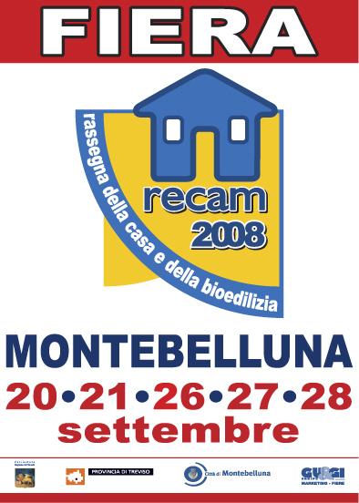 Manifesto Fiera RECAM 2008