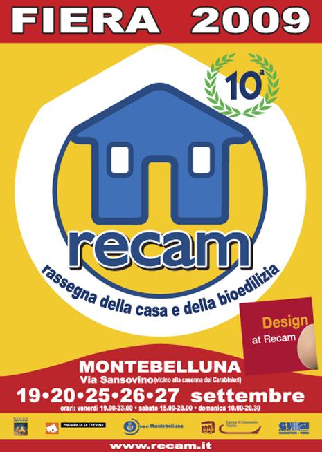 Manifesto Fiera RECAM 2009