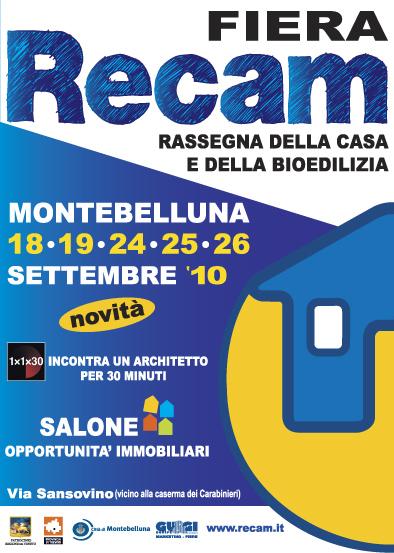Manifesto Fiera RECAM 2010