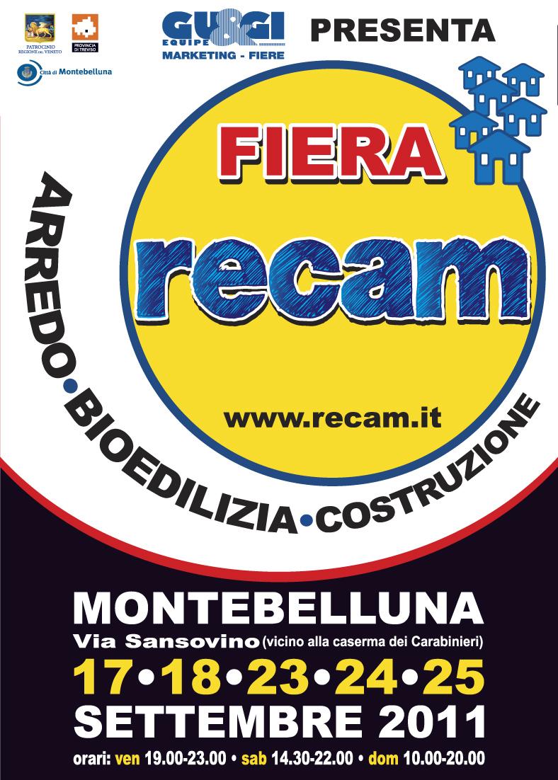 Manifesto Fiera RECAM 2011