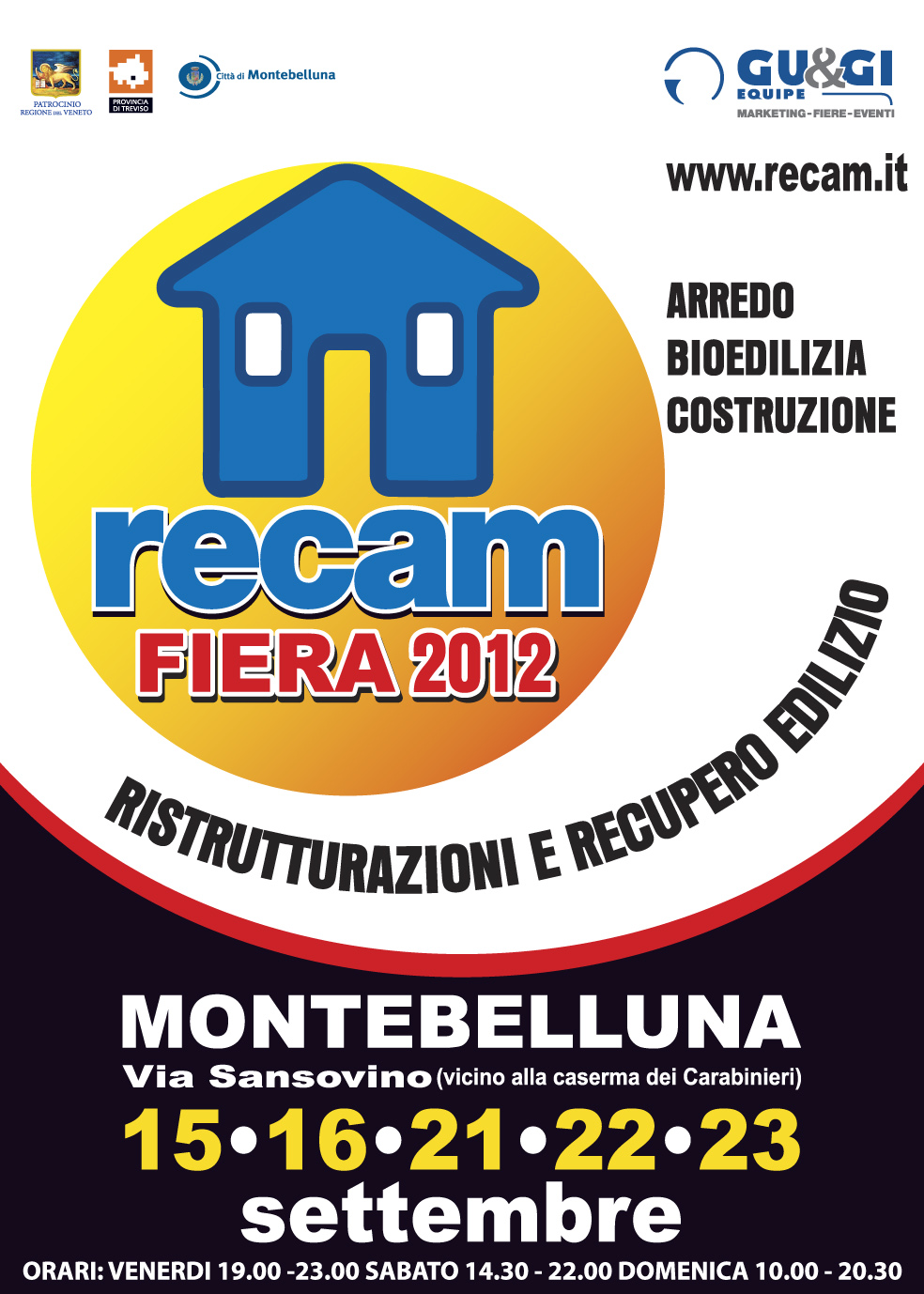 Manifesto Fiera RECAM 2012
