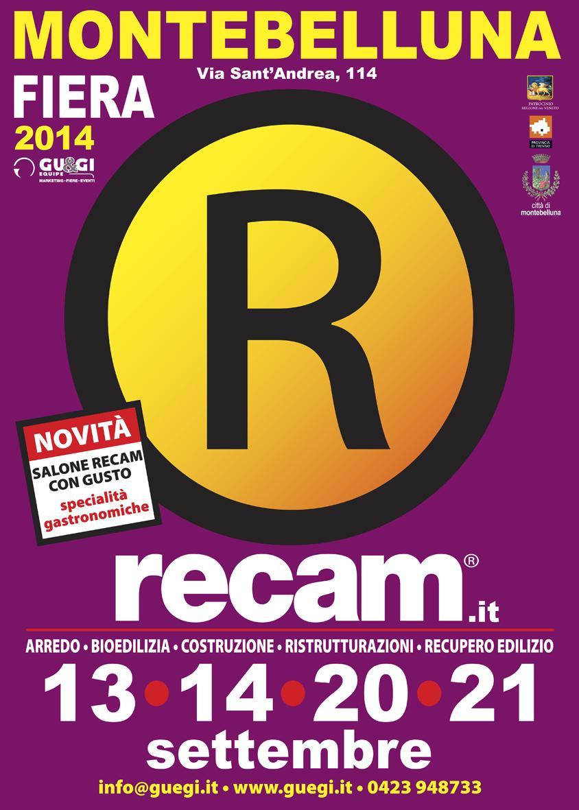 Manifesto Fiera RECAM 2014