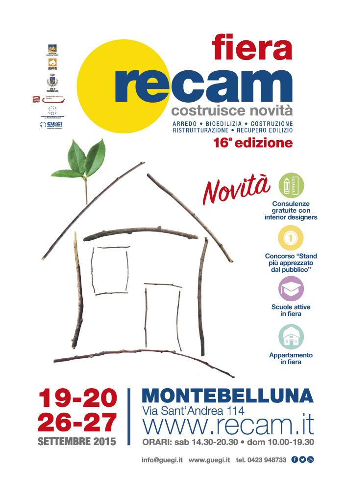 Manifesto Fiera RECAM 2015
