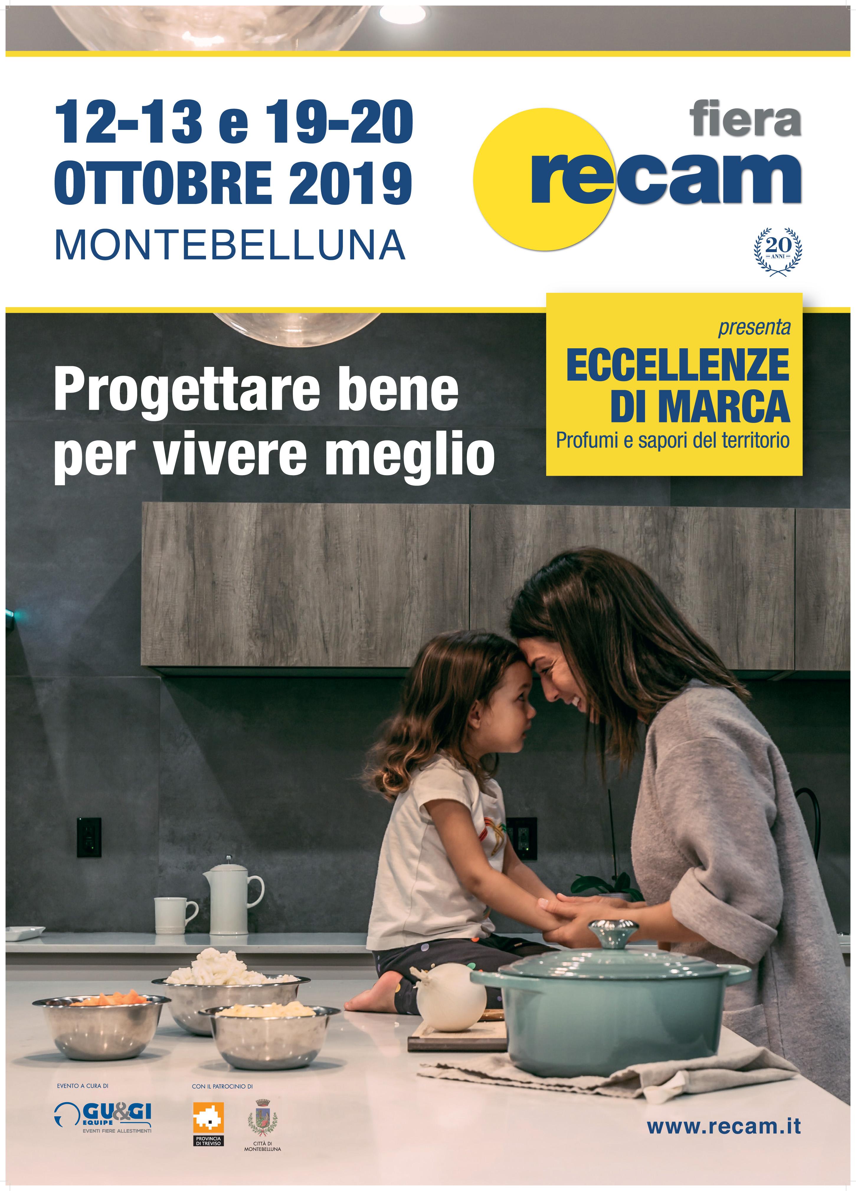 Manifesto Fiera RECAM 2019